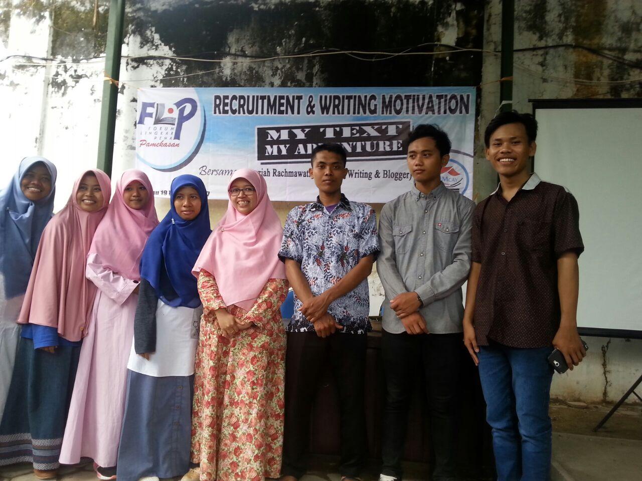 FLP Pamekasan Open Recruitment, Ini Harapan Ketua Umum
