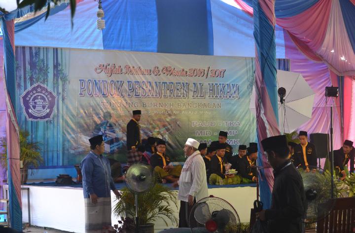 Breaking News; Ribuan Orang Padati Haflah Ikhtitam PP. Al-Hikam Burneh