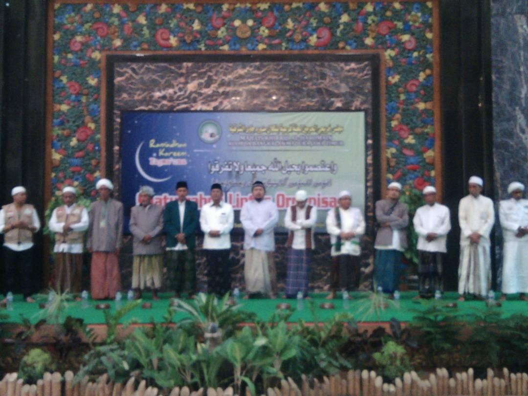 Ulama Dan Kyai Bangkalan Hadiri Silaturrahim Lintas Organisasi
