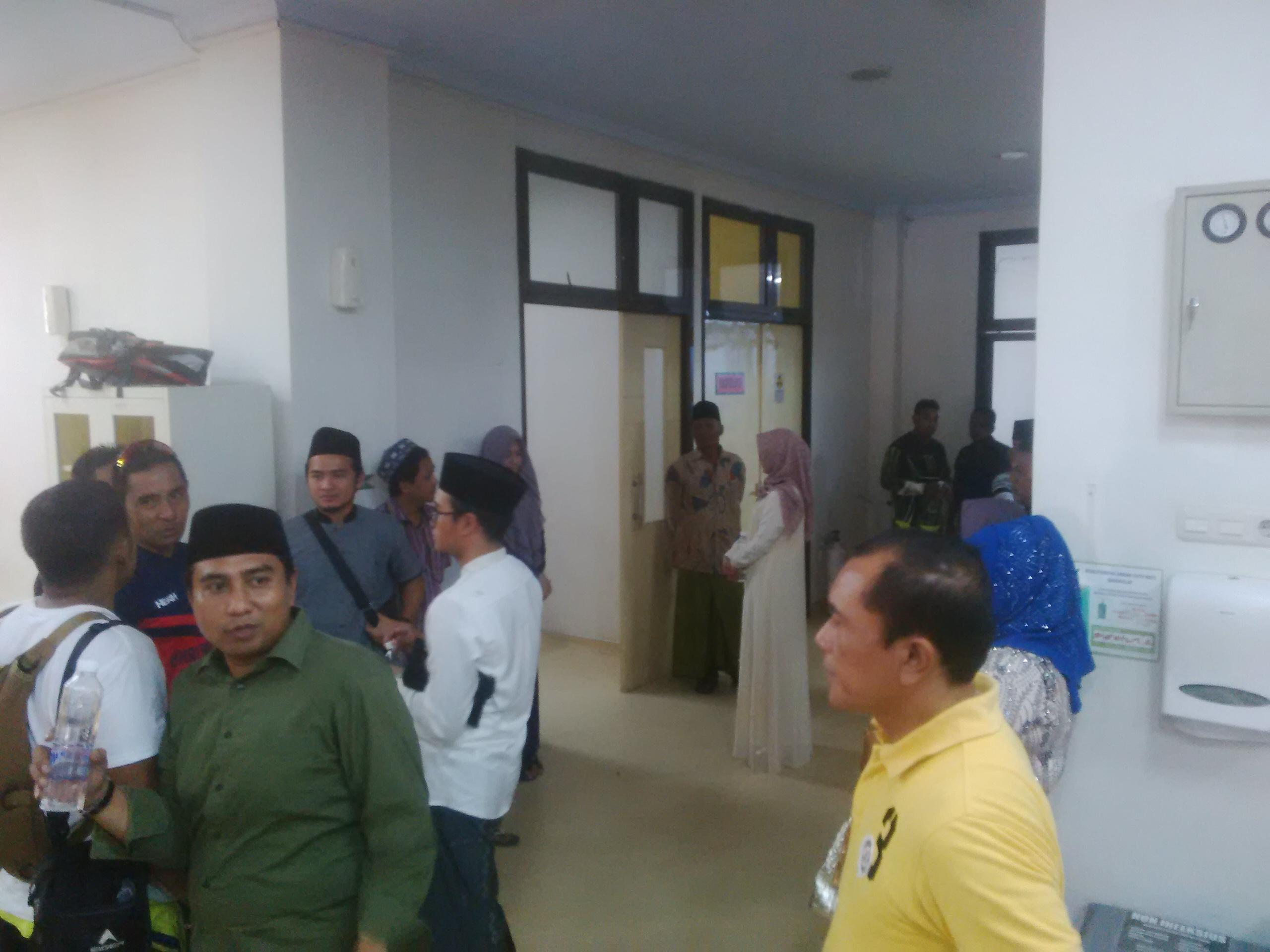 Bupati Bangkalan Cedera Patah Tulang Saat Ngetril Di Acara HUT Bhayangkara