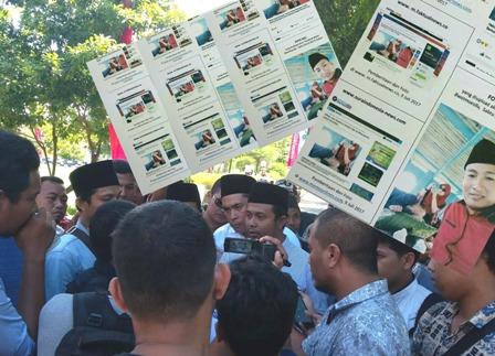 Loyalis Bupati Sumenep Laporkan Tiga Media Online ke Mapolres