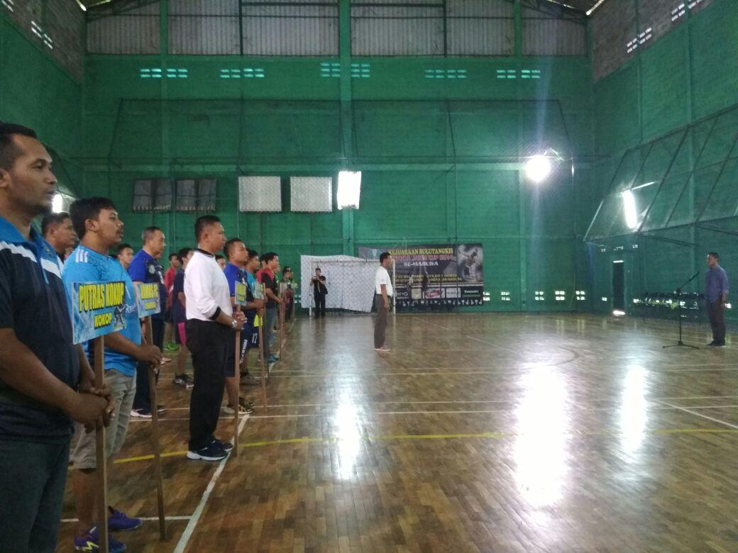 Peringati HUT Polantas, Satlantas Polres Bangkalan Gelar Turnamen Futsal