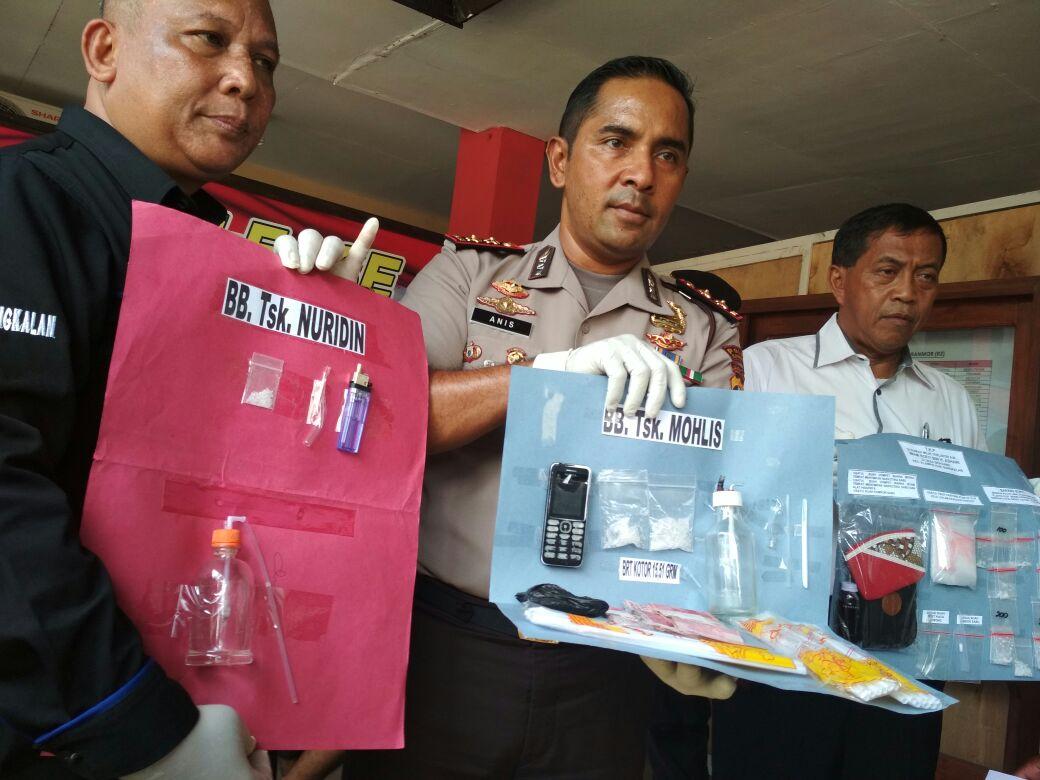 2 Minggu, Polres Bangkalan Amankan 30 Gram Sabu Beserta Tersangkanya