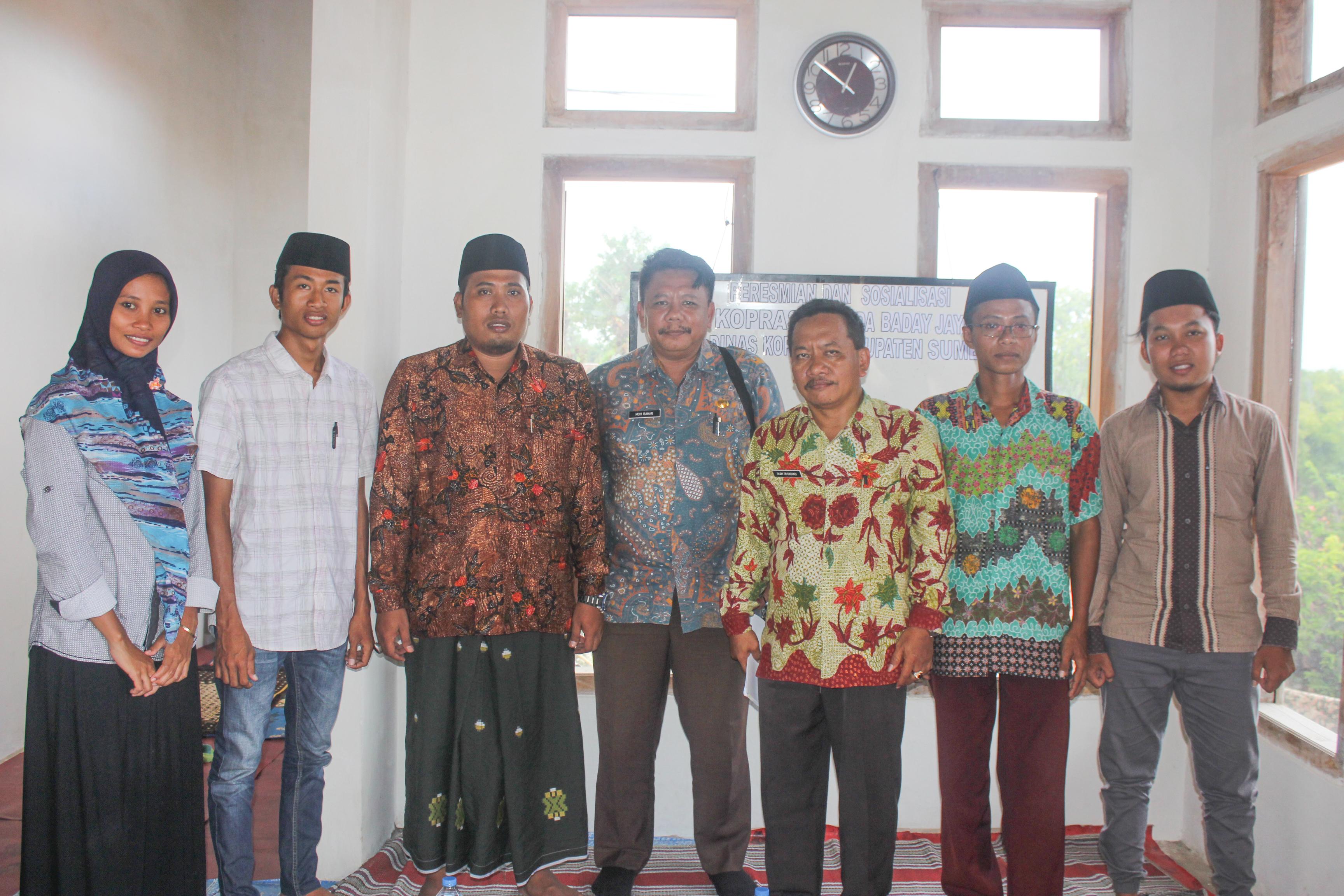 Sudah Dirikan Koperasi, Kades Harno Akan Bangun Pasar Desa