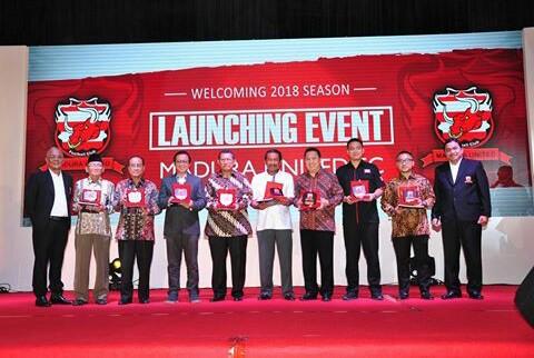 Hadir di Launching Madura United, Ini Harapan D Zawawi Imron