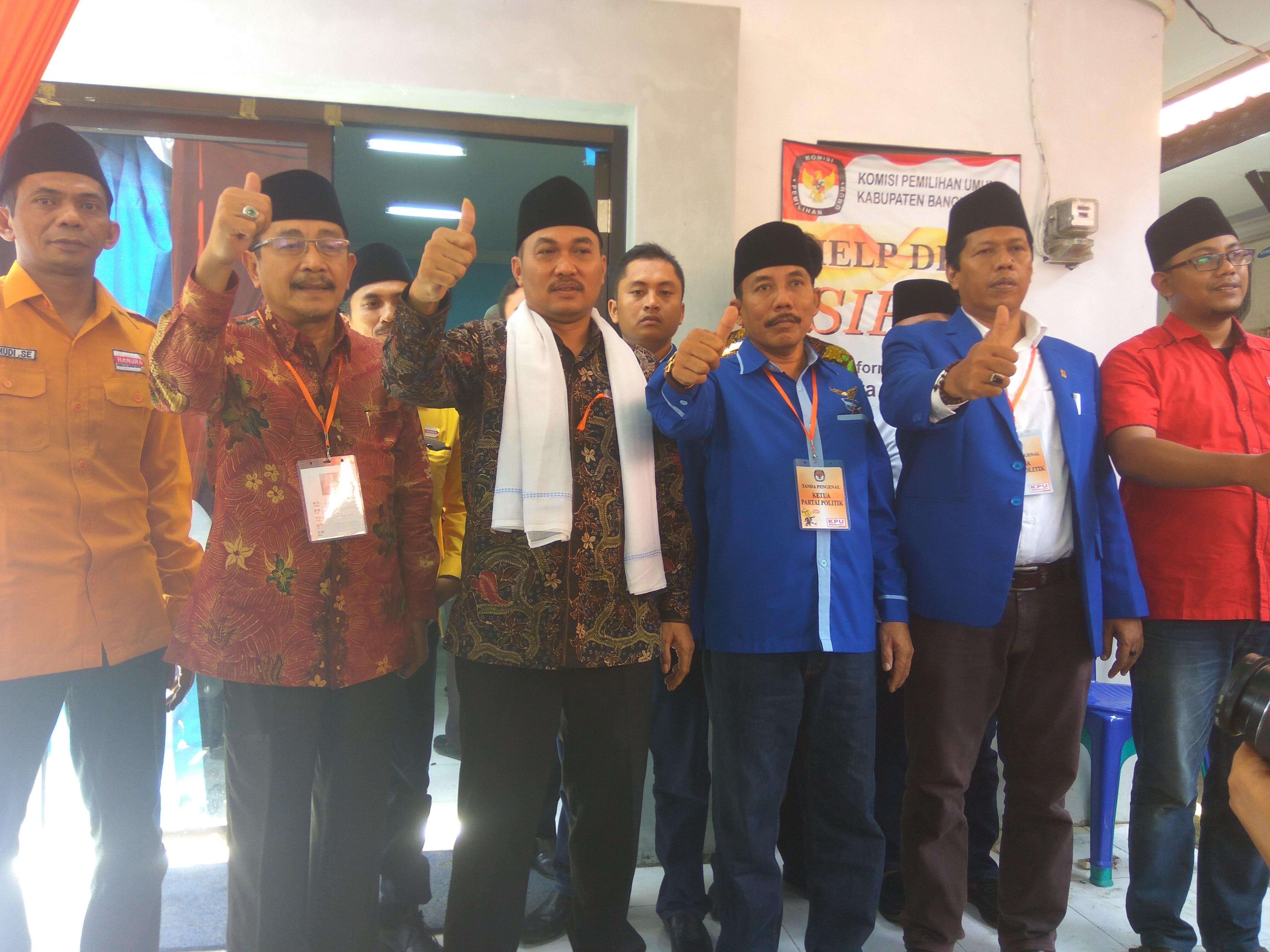 Resmi Daftar ke KPU,  Farid Alfauzi : Saya Hadir untuk Perubahan Bangkalan