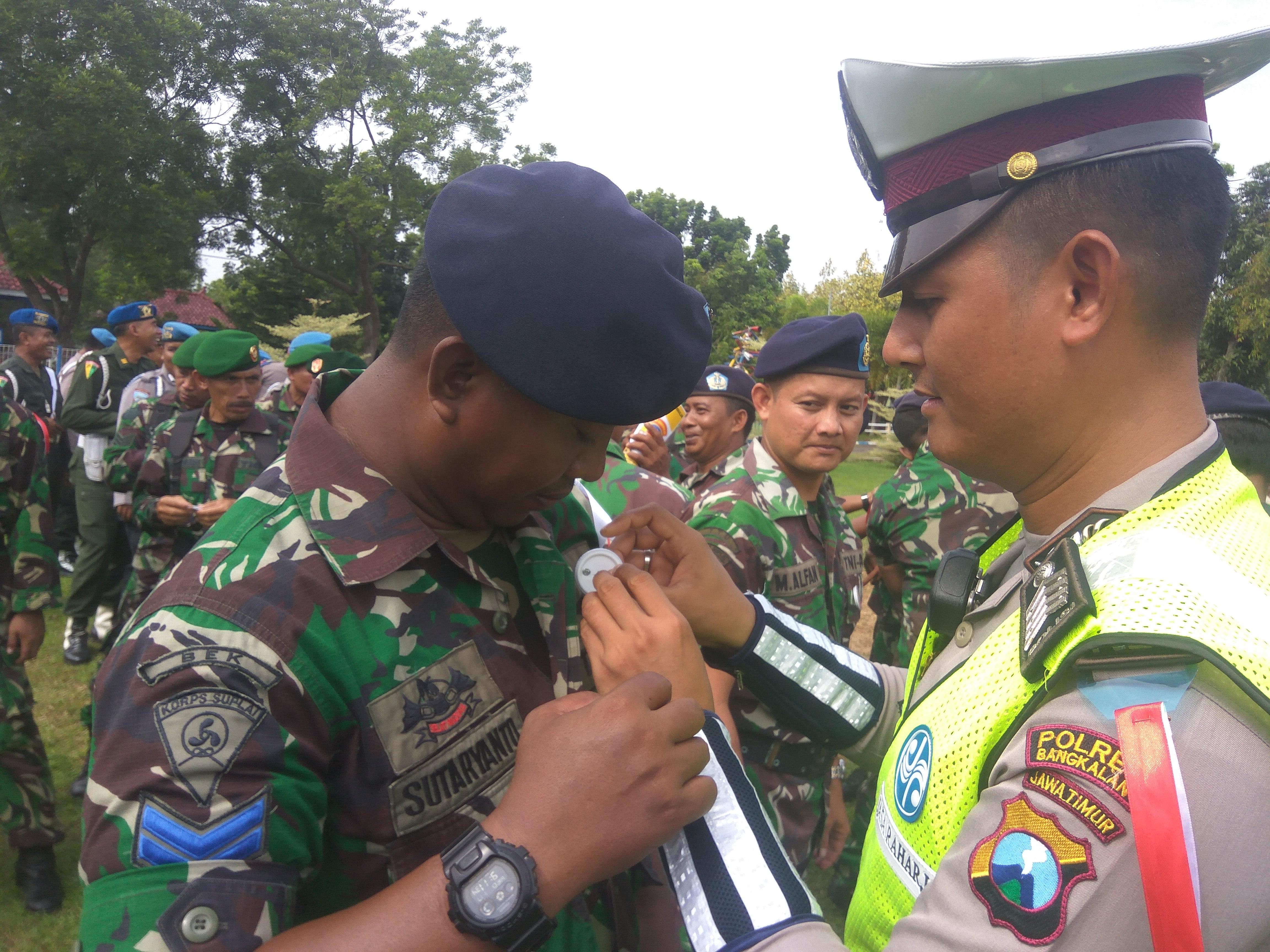 Kapolres Bangkalan Launching Tag line Polisi Penolong