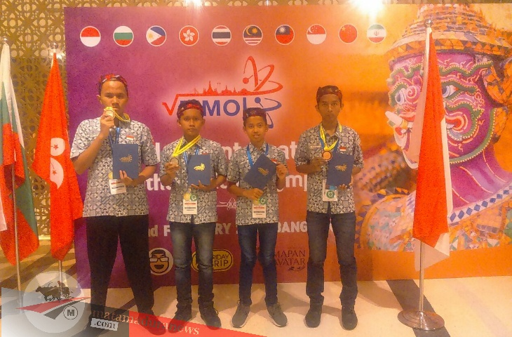 4 Siswa Pamekasan Berprestasi di Thailand International Mathematical Olympiad