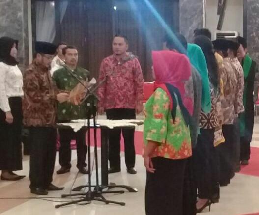 KPUD Melantik PPK dan PPS untuk Pemilu 2019