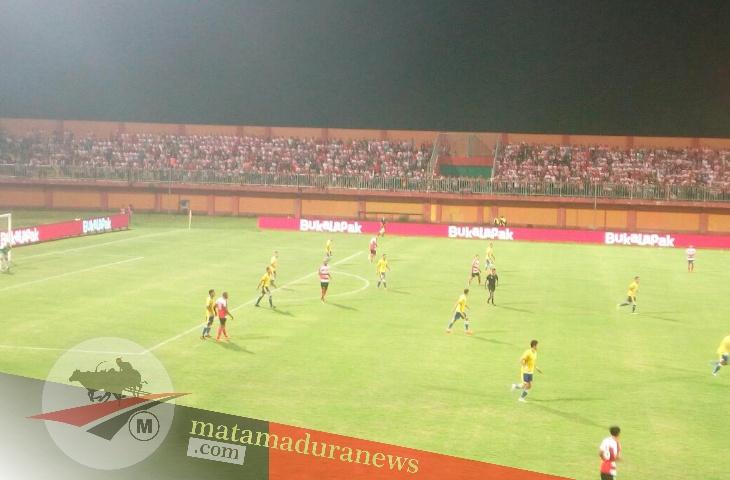 3 Gol, Jadi Angin Segar Madura United di Laga Perdana Liga 1