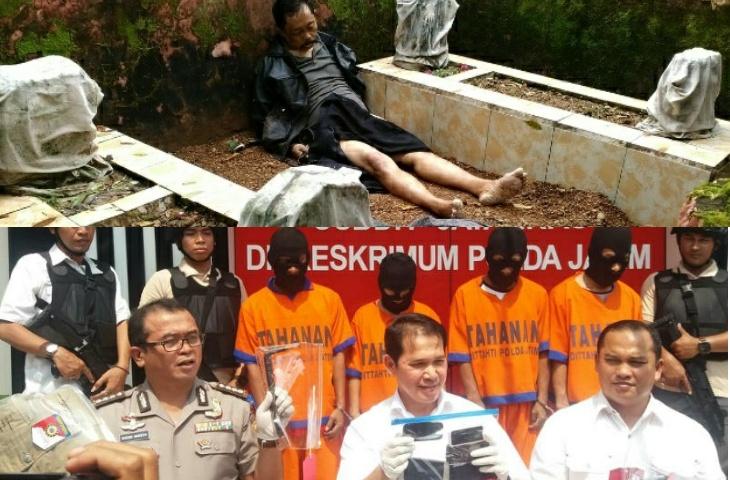Akhirnya, Pembunuh Pensiunan PNS Sumenep Tertangkap