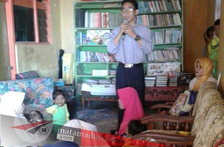 Tumbuhkan Minat Baca, TK Muslimat NU VI Dasok Gelar Gernas Baku