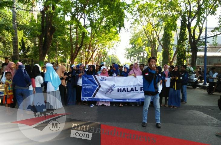 Peringati Harlah, FoSSEI Komisariat Madura Kampanyekan 'Berani Halal'