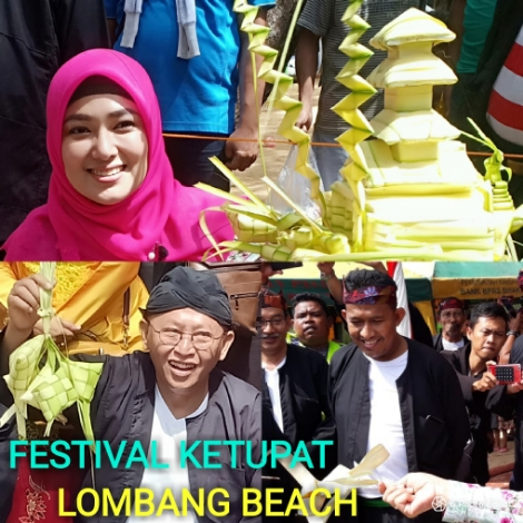 Festival Ketupat Suguhkan Aneka Jenis Topa' di Pantai Lombang