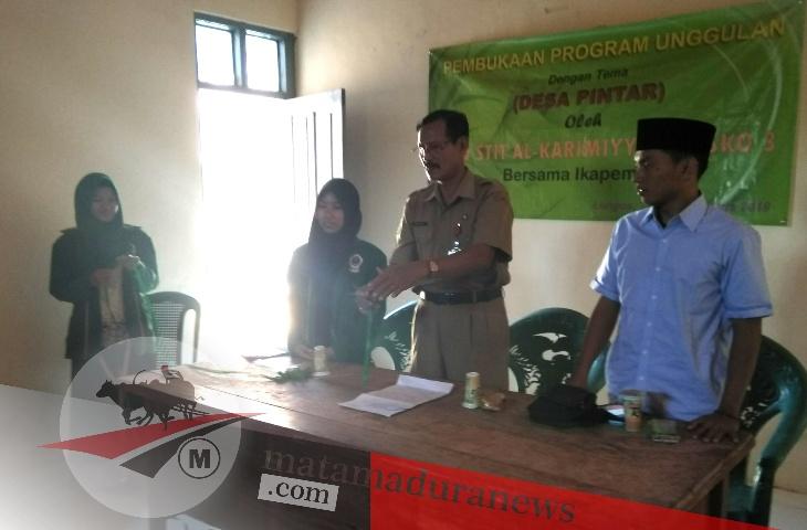 Resmi Dibuka, Ini Program Unggulan KKN 3 STIT Al Karimiyyah di Desa Longos