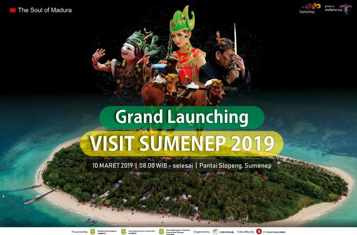 Hari Minggu, Pemkab Launching Visit Sumenep 2019 di Pantai Slopeng