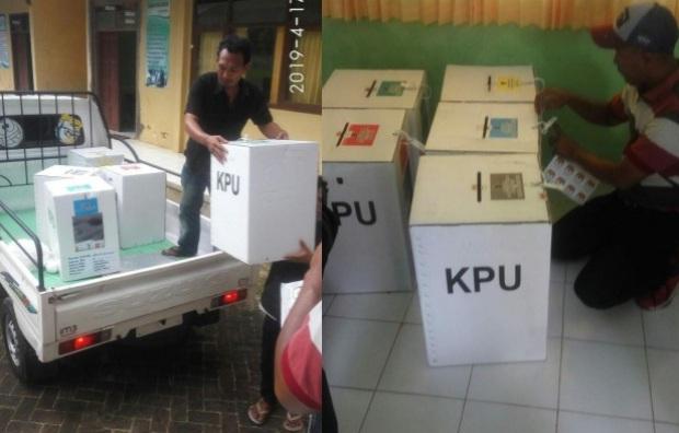 SS Pemilu 2019 Ditemukan Tercoblos Sebelum Pemungutan, Masalembu PSU?