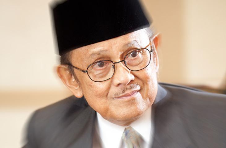 Ketika Prof BJ Habibie Bicara soal Kehidupan Akhirat di Kairo, Mesir