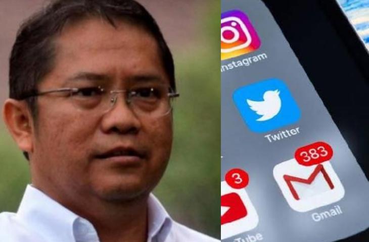 Menteri Kominfo Beberkan Sebaran Hoaks di Medsos