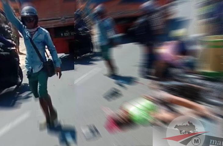 Nyaris Bersamaan Kecelakaan di JL Panglegur. Korban Meninggal Dunia