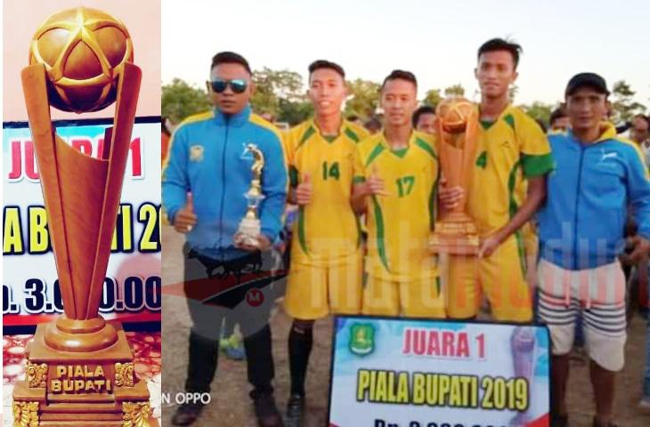 Juara Bupati Cup, tak bisa Ikut Bupati Cup. Ini Kata Ketua PSSI Sumenep