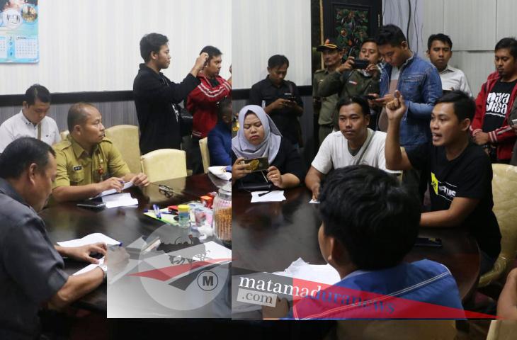 Guyonan WhatsApp dan Unjuk Rasa Lelang Jabatan Sumenep