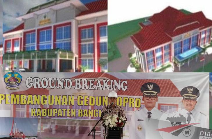 Gedung Megah DPRD Bangkalan dan Harapan Bupati Ra Latif