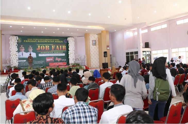 Atasi Persoalan Ketenagakerjaan, Pemkab Sumenep Rutin Gelar Job Fair