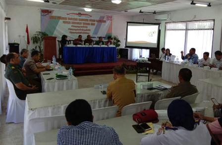 KPU Bangkalan Evaluasi Fasilitas Kampanye Pemilu 2019