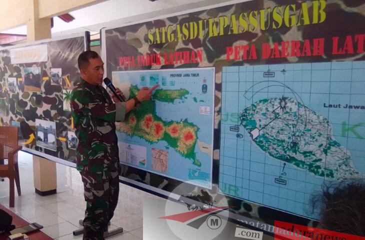 Latihan Perang di Pulau Sapudi. Tak Boleh Ada Penyeberangan Sapudi-Situbondo