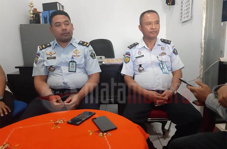 Dua Pejabat Tersangka Kambing Etawa Jalani Mapenaling di Lapas Rutan II B Bangkalan