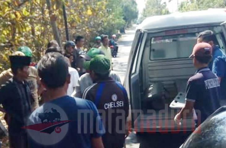 Kecelakaan di JL Raya Blega, 1 Korban Meninggal Dunia