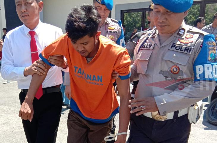 Polres Bangkalan Tembak Pelaku Curanmor yang Selalu Meresahkan Warga Kota