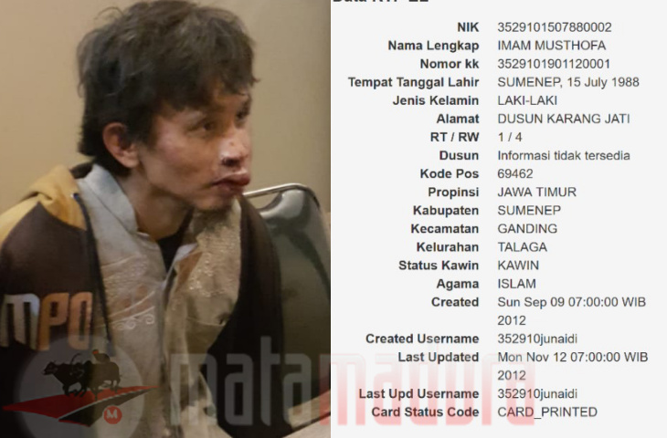 Penyerang Polsek Wonokromo asal Ganding Sumenep