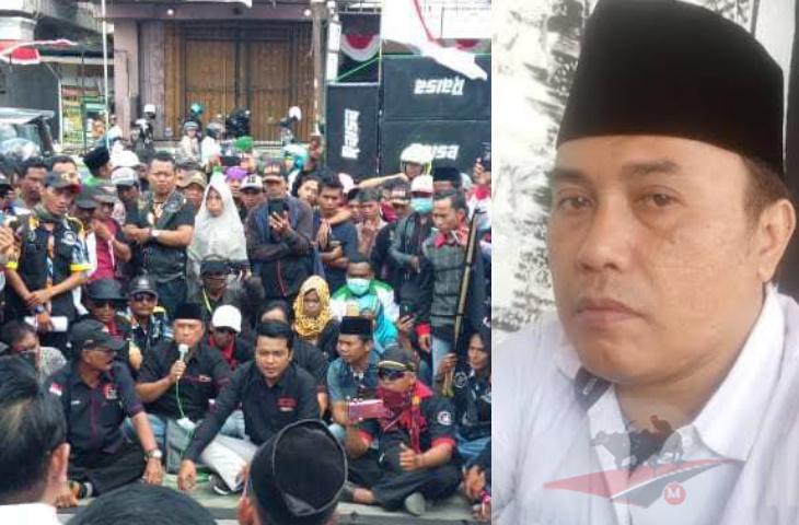 Gara-Gara Dana PKH Ngendap Rp 7 M di BRI, Pendekar LSM Sampang Demo