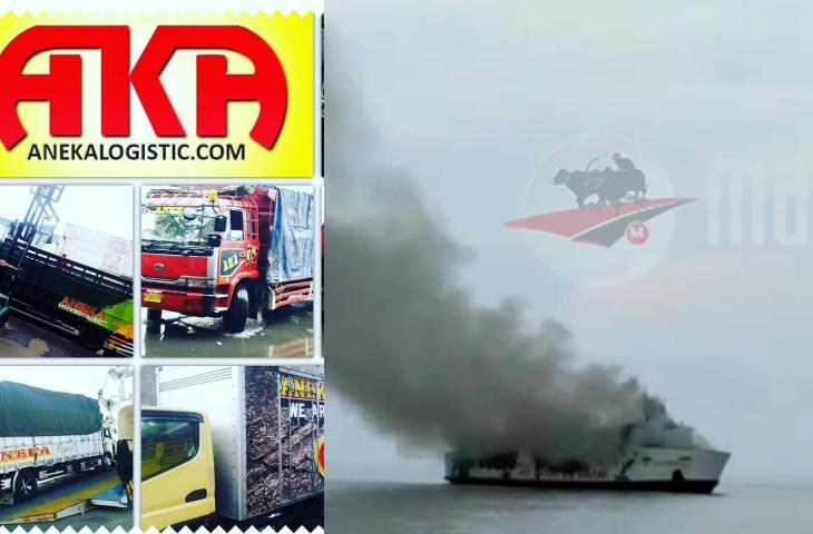 Video Detik-Detik Evakuasi Penumpang Kapal Terbakar di Perairan Masalembu