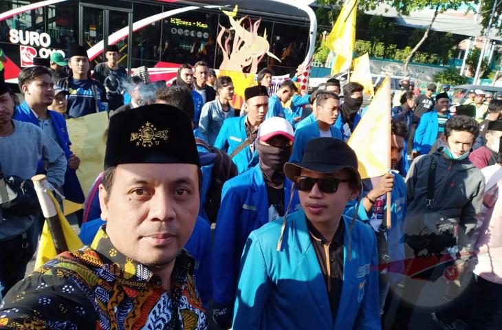 KPK Bukan Malaikat, PMII se Indonesia Demo Perbaikan Sistem KPK