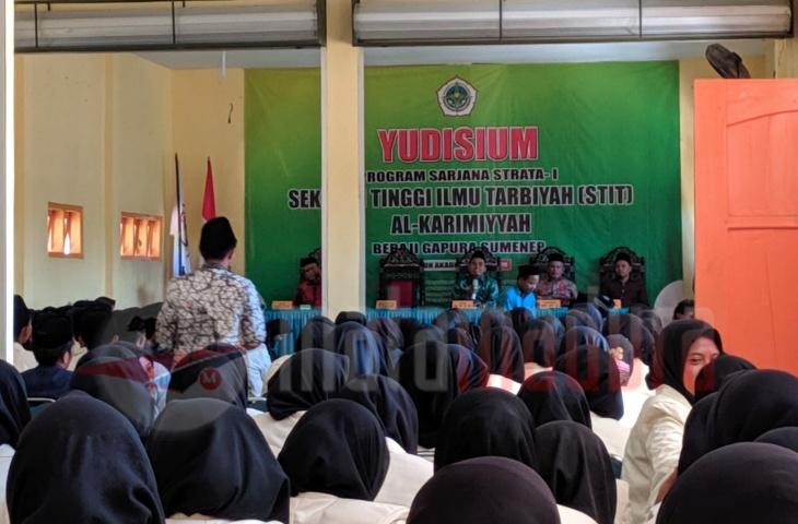 Yudisium 181 Mahasiswa Hari Ini, STIT Al Karimiyyah Bakal Gelar Wisuda Lusa