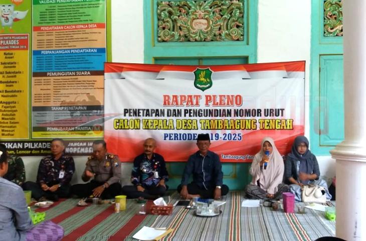Sebanyak 14 Desa di Ambunten Bakal Gelar Pilkades, Ini Harapan Camat Agus