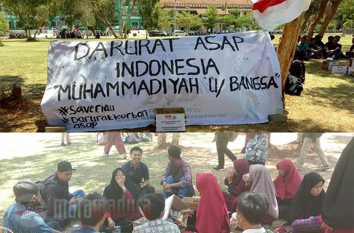 Indonesia Darurat Asap, AMM UTM Bangkalan Gelar Aksi Solidaritas