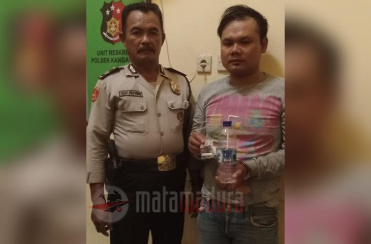 Sering Pesta Sabu, Warga Kangean Ketangkap Polisi
