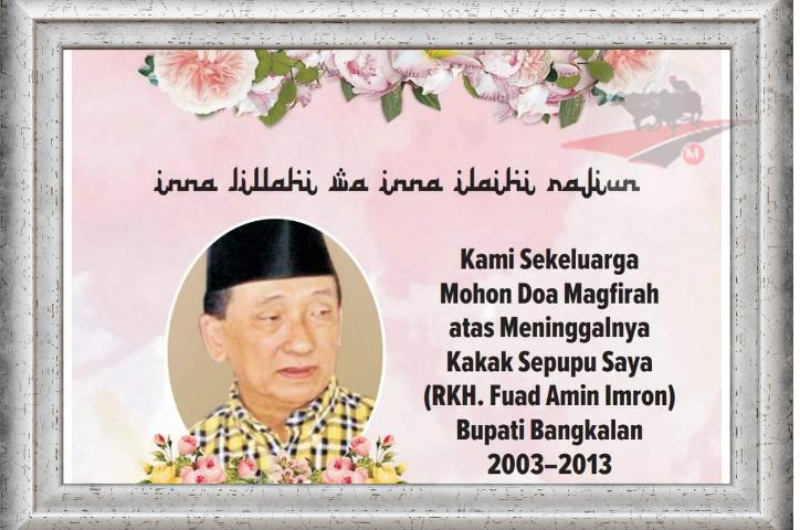 R KH Fuad Amin; Cicit Syechona Kholil Bangkalan