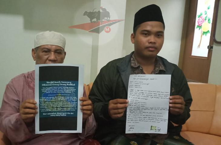 Penyebar Takmir Masjid Jamik Sumenep Radikal Minta Maaf. Raden Saghara Dicari